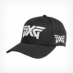 PXG Laser Mesh Shadow Tech Fitted Cap - Black