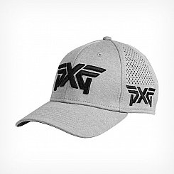 PXG Laser Mesh Shadow Tech Fitted Cap - Grey