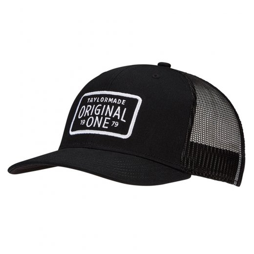 TaylorMade Lifestyle Original One Trucker Cap - Black